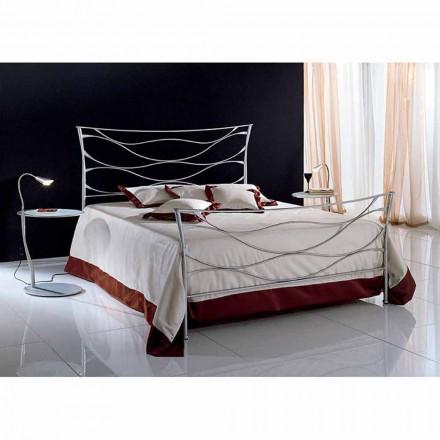 Doppelbett aus Schmiedeeisen  Idra