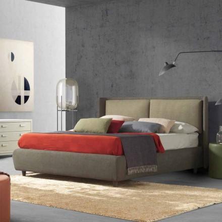 Modernes Doppelbett, ohne Bettcontainer, Kate von Bolzan