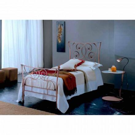 Einzelbett aus Schmiedeeisen Ares