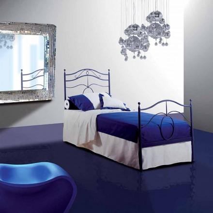Einzelbett aus Schmiedeeisen Cassiopea