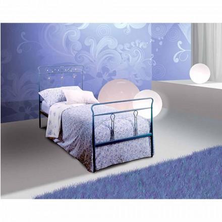 Einzelbett aus Schmiedeeisen Pan