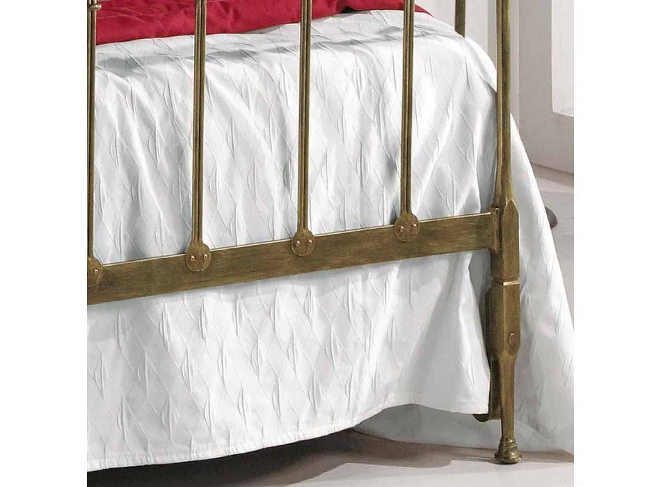 Queen-Size-Bett aus Schmiedeeisen voll Kelly made in Italy