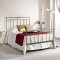 120x190 cm Bett aus Schmiedeeisen Made in Italy Kelly