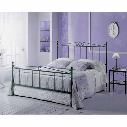 Jugend Queen Size Bett aus Schmiedeeisen Fauno