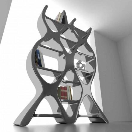 Bücherregal aus Solid Surface® in modernem Design DNA