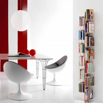 Modernes bodenmontiertes Bücherregal von Zia Veronica, hergestellt in Italien