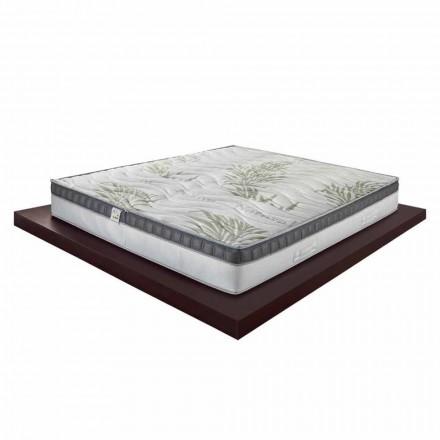 Luxus Doppelmatratze aus Memory Foam H 25 cm Made in Italy – Idea