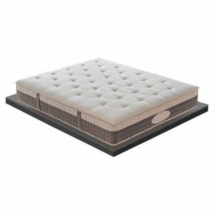 Hochwertige Doppelmatratze aus Memory Foam Made in Italy - Silvestro