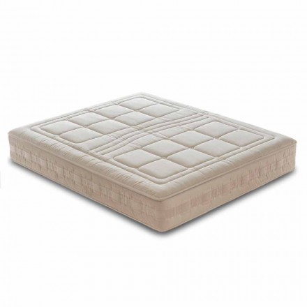 Luxus Einzel-Matratze H 25 cm aus Memory Foam und 1600 Federkern – Grecia