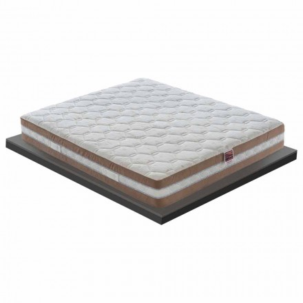 Queen Size Matratze aus Memory XFoam H 25 cm Made in Italy - Carbone
