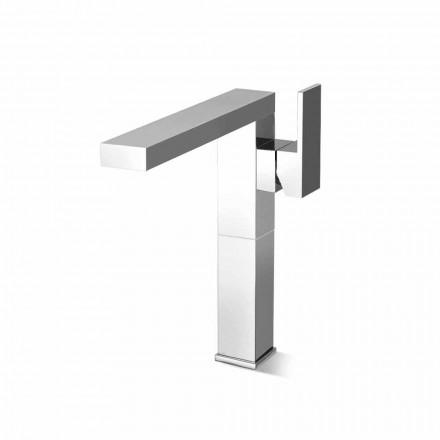 Long Spout Washbasin Mixer für Badezimmer aus Messing Made in Italy - Panela