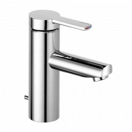 Einhebel-Waschtischmischer aus Messing, kostbares Design - Zanio