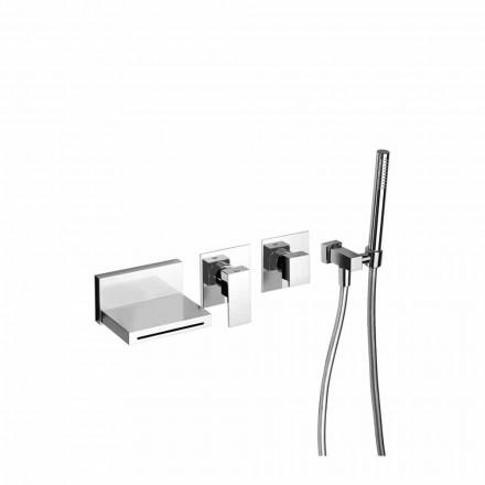 Made in Italy Design Eingebauter Badewannenmischer - Panela