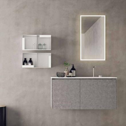 Hängende Designmöbel, moderne Badezimmerzusammensetzung - Callisi9