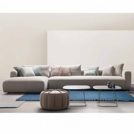 Sectional Design Sofa in meinem Hause Soft Made in Italy Stoff