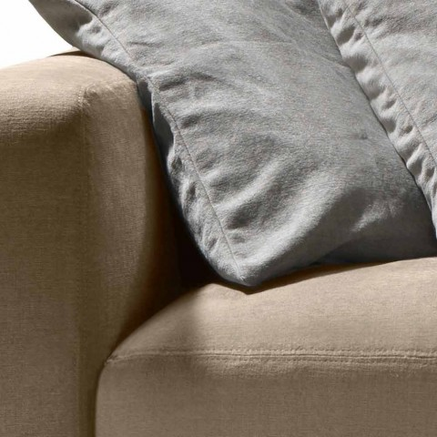My Home Soft Ein Sofa in Design Stoff L210cm Made in Italy