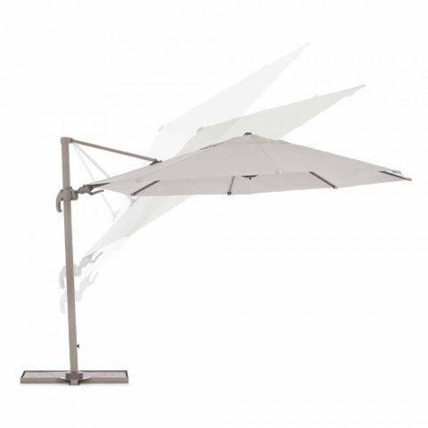 Regenschirmdurchmesser 3,5 m aus Polyester mit Aluminiumstange - Linfa