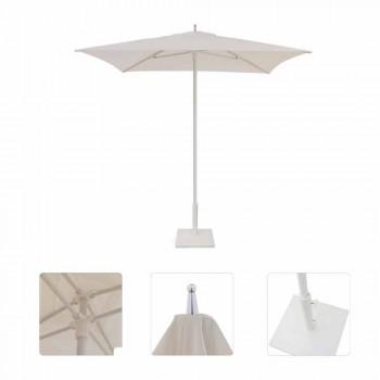 Moderner Gartenschirm aus Stoff und Stahl 2x2 m - Apollo von Talenti
