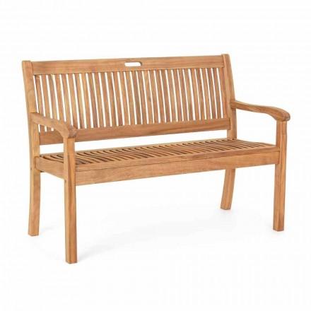 Gartenbank aus Akazienholz für 2- oder 3-Sitzer-Design im Freien - Roxen