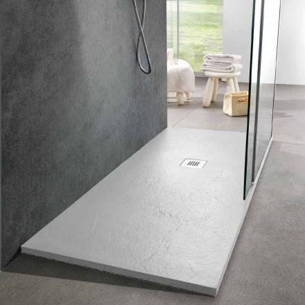 Modernes Design Duschwanne 160x80 in Resin Slate Effect Finish - Sommo