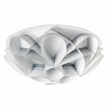 Deckenleuchte 2 leuchtet modernes Design, Durchmesser 43 cm, Lena, in Italien hergestellt