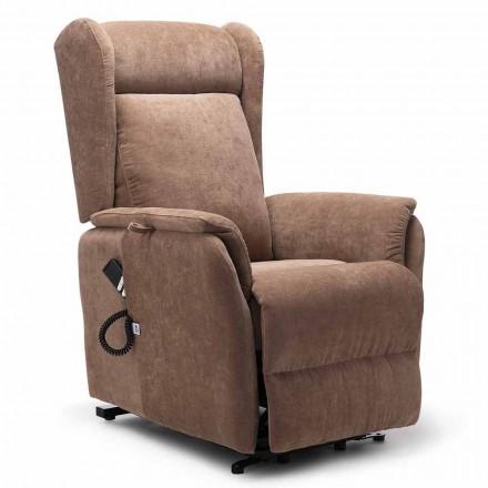 Hochwertiger Relaxsessel mit 2 Motoren und Räder - Juliette