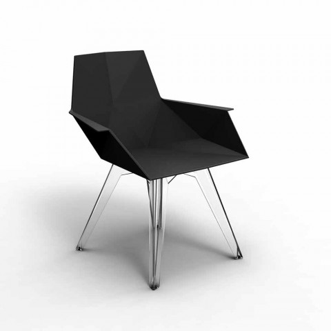 Faz Vondom Design Outdoor-Sessel, Polypropylen und Polycarbonat