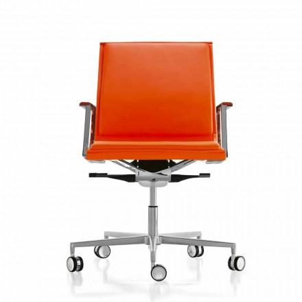 Ergonomische Cheffsessel aus moderne Design aus Stoff oder Leder Nulite Luxy