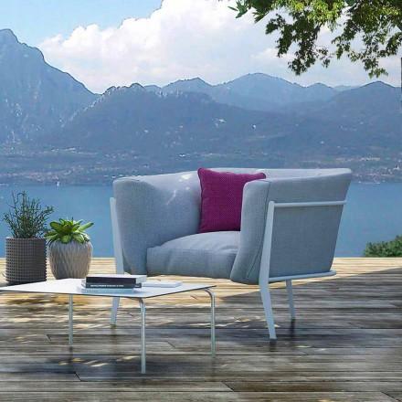 Modern und Made in Italy Outdoor- oder Indoor-Design-Sessel - Carminio1