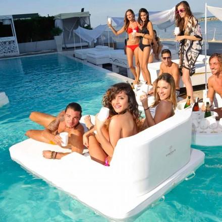 Floating Pool Stuhl im Doppel Sitzung Trona Magnum