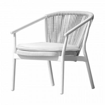 Garden Lounge Sessel Polsterstoff und Aluminium - Smart von Varaschin