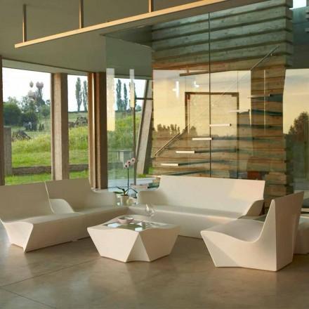Loungesessel Slide Kami Ichi im modernen Design, hergestellt in Italien