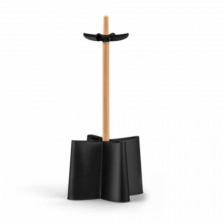Schirmständer aus Buchenholz und Polypropylen Nurri