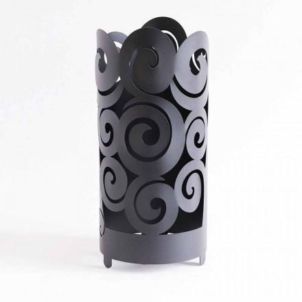 Schirmständer in modernem Design aus farbigem Eisen Made in Italy - Astolfo