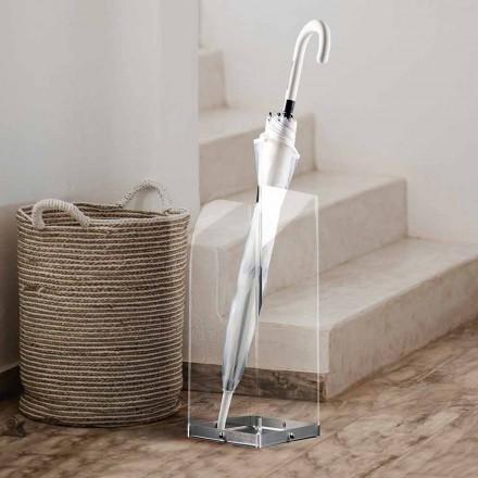 Schirmständer mit originellem und modernem Design aus transparentem Plexiglas - Pallium