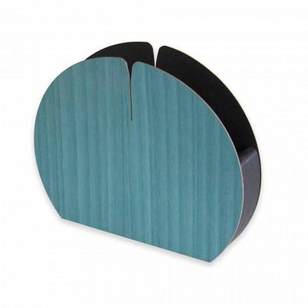 Moderner Tischserviettenhalter aus Naturholz Made in Italy - Stan