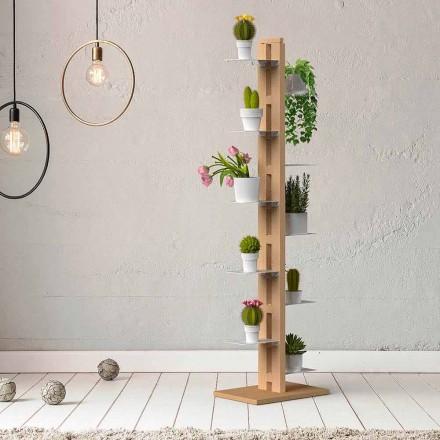 Pflanzenhalter Made in Italy in modernem Design Zia Flora