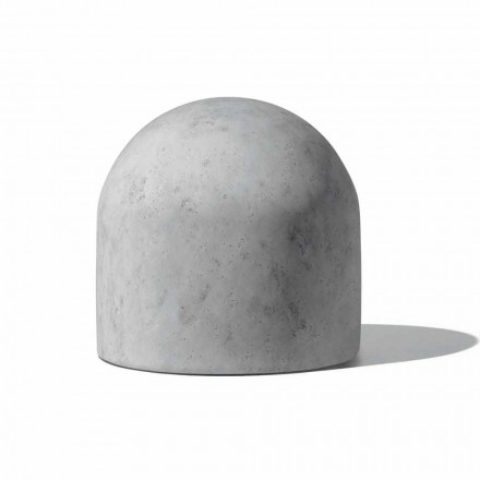 Soft Design Hocker mit Made in Italy Stoff - Rock