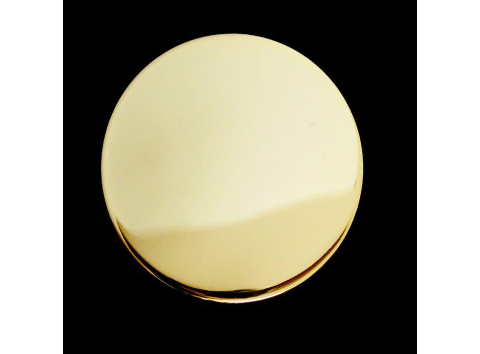 Design 3-Loch Bidetarmaturen im Vintage-Stil aus Messing Made in Italy - Silvana