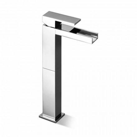 Design Waschtischarmatur mit 13 cm Verlängerung Made in Italy - Bibo