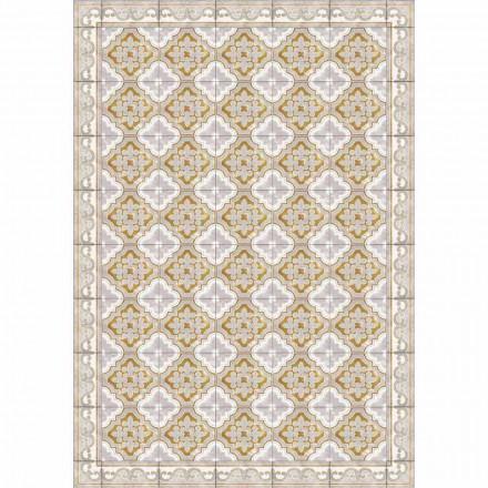 Tischläufer mit bunt gemustertem Design aus PVC und Polyester - Dorado