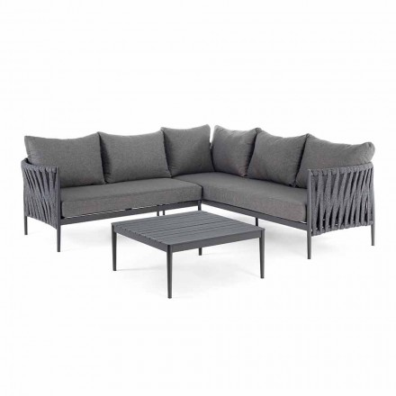 Corner Garden Design Lounge, Homemotion - Abnehmbare Lucio-Kissen