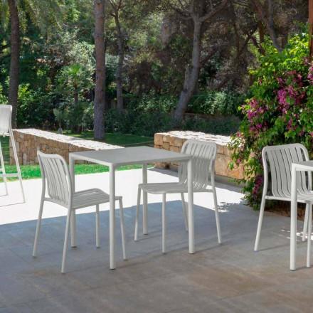 moderne klappbare Gartenstühle Trocadero Talenti aus Alluminium