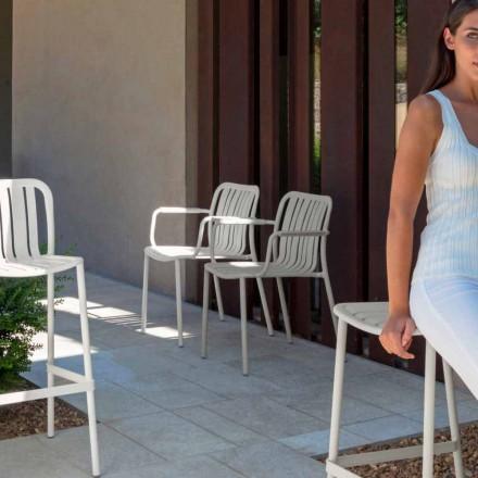 Gartenstühle mit Armlehne Trocadero Talenti aus Alluminium