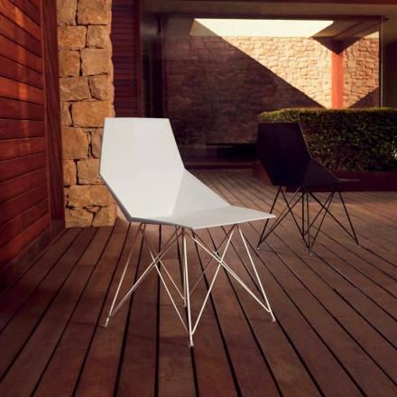 Moderner Stuhl Faz Kollektion Vondom, Polypropylen und Edelstahl