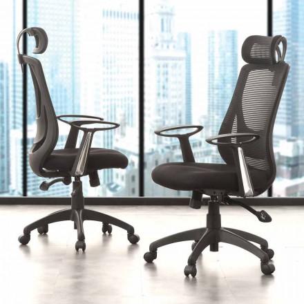 Direktions- und Operationsbüro Black Chair - Gerlanda