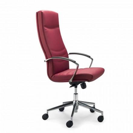 Bürostuhl aus Kunstleder in modernem Design Debora