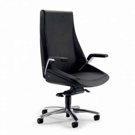 Chefsessel Bürostuhl aus Leder Ada Angelo Pinaffo & Gorgi