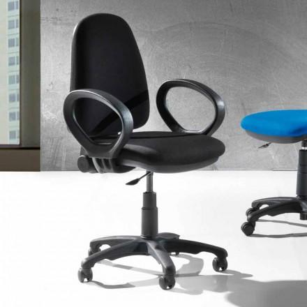 Ergonomischer Bürodrehstuhl aus Kunstleder oder Tissue - Calogera