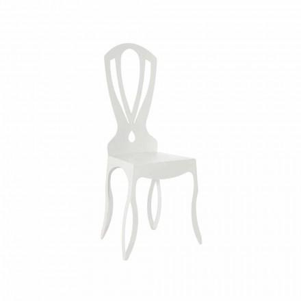 Moderner Esszimmerstuhl aus Eisen Made in Italy - Giunone